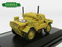 BNIB OO GAUGE OXFORD 1:76 76DSC003 DINGO SCOUT CAR HQ 2ND DIV EL ALAMEIN 1942