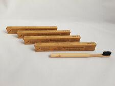1 x SeifenVilla Bambus Zahnbürste mit Bambuskohle WEICH 100 % Natur, vegan