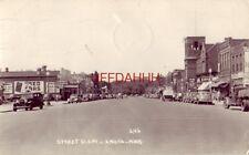 1947 STREET SCENE, ANOKA, MN. Ward's Cafe, Chevy - Olds - Buick dealer