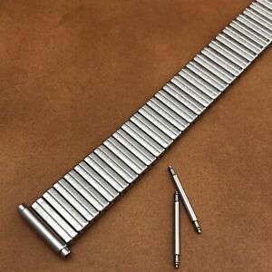 Stainless Steel JB Champion New Old 1970s Vintage Watch Band 18mm-20mm