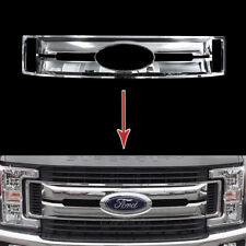 2017 2018 Ford F250 F350 F450 XL CHROME Snap On Grille Overlay Full Grill Covers