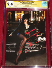 CGC SS Elvira: Mistress of the Dark # 2 signed by ELVIRA!  Gorgeous Photo Cover!