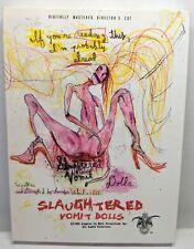 Slaughtered Vomit Dolls Director's Cut DVD Horror Graphic Lucifer Valentine 666