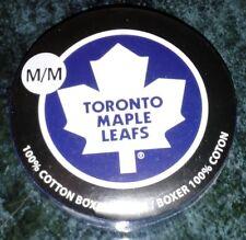 NHL Toronto Maple Leafs 100% Cotton Boxer Shorts Size Medium Old Logo Underwear