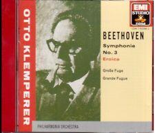 Beethoven: Sinfonia N.3, Grande Fuga / Otto Klemperer, Philharmonia - CD