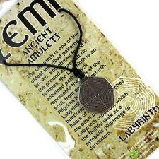 The Labyrinth, Ancient Zemi Amulet Pewter Pendant #HC-ZEMI04