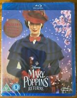 MARY POPPINS RETURNS (INCLUDES SING-A-LONG VERSION) [DISNEY BLURAY] NEW & SEALED