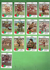 #D404. 1975  SOUTH SYDNEY RABBITOHS  RUGBY LEAGUE CARDS - ALL 13 CARDS