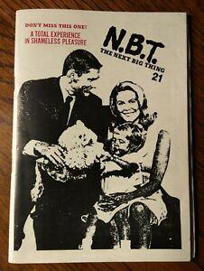 Next Big Thing #21 (1985 UK Fanzine) 100 Pages