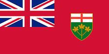 PREMIUM Aufkleber Ontario Kanada Canada Autoaufkleber Auto MNotorrad car Sticker