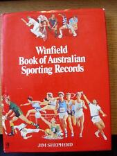 1981 - Winfield Book Of Australian Sporting Records: A Large Hard Book [Approx 9