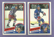 1984-85 OPC O-PEE-CHEE New York Rangers Team Set