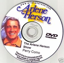 Perry Como TV Interview (30 minutes)  DVD