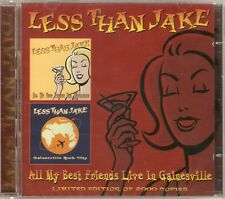 Less Than Jake - All My Best Friends Live In Gainesville (Single/Live) 2CD NEW