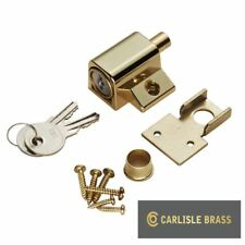 FRENCH DOORS LOCK CATCHES HEAVY DUTY METAL SECURITY SLIDING PATIO WINDOW BOLT