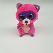 Ty beanie boo stuffed animal plushie 6 inch Roxie the Raccoon
