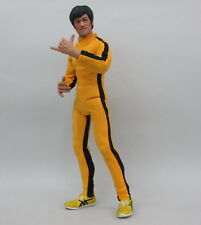 Bruce Lee 1/6 Scale Game of Death Yellow Suit Enterbay DX04 Hot Costume