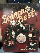 Sandra Malone SEASONS BEST Vol 1 Decorative Painting Projects Craft Christmas