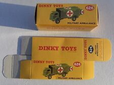 High Quality Reproduction Dinky Military Boxes - 626 Military Ambulance