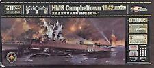 1/700 HMS Campbeltown (1942 St. Nazaire) destroyer * Flyhawk FH1105S Deluxe Ed.