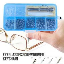AU*Spectacle Repair Kit Nose Tab Sunglasses Eyeglass Screw Screwdriver Glasses