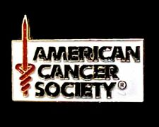 American Cancer Society Lapel Pin Tac ACS Support Relay for Life Volunteer Pin