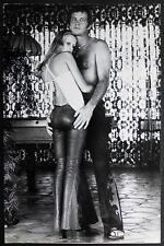 Photo Tirage vintage 25x38 - Terry O'Neill - Twiggy Lawson & Whitney - mode 1974