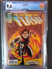 Flash #92  (1st Impulse)  CGC 9.6  GREAT COPY