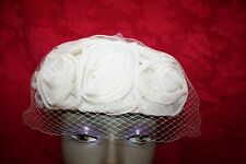 Hat - Vintage Wedding Pillbox