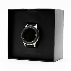 PARTS ONLY Samsung Electronics Galaxy Bluetooth Smartwatch - 46mm Silver / Black