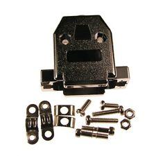 2 D-Sub-Hauben 15-pol GP15GM SUB-D-Kappe Kunststoff metallisiert UNC 4-40 087318