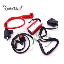 Racing Ignition Coil CDI Wirings Loom Harness For 90 110cc 125cc 160cc Pit Bike