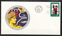 United States 1972 Dec 7 space cover Apollo XVII launch NASA history