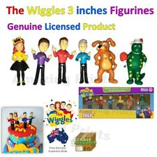 The Wiggles Birthday Party Cake Topper Figurines Pack Supply Decoration Emma