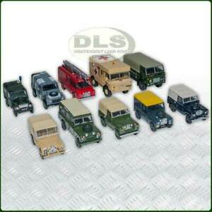 Military Land Rover Die-cast Model Collection 10 pieces (DA1526)