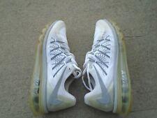 Mens Nike Air Max white mesh running shoes sz 10