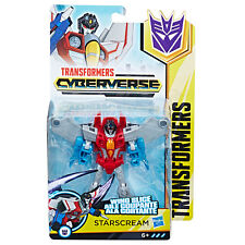 Transformers Cyberverse Action Attackers Warrior Class Starscream Figure