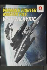 JAPAN NEW Macross Book: Variable Fighter Master File U.N.SPACY VF-1 Valkyrie 2