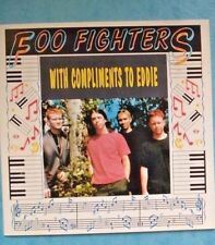 FOO FIGHTERS- WITH COMPLIMENTS TO EDDIE-tramps nyc LIVE 1995 rare silver import