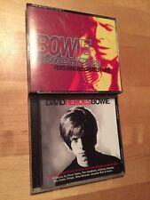 DAVID BOWIE The Singles Collection 2 CD SET + BONUS Mojo Heroes