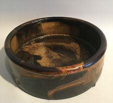 Studio Keramik große Schale signiert Renate & Hans Heckmann Art Pottery