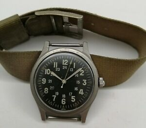 US Military Watch Hamilton GG-W-113 Issued In 1969