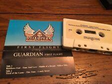 GUARDIAN FIRST FLIGHT 1987   DEMO CASSETTE INDIE HAIR METAL AOR UT.