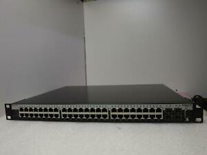 2x Enterasys B-Series B5K125-48 48-Port Managed Stackable Gigabit Switch _