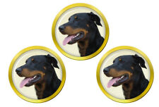 Beauceron Dog Golf Ball Markers