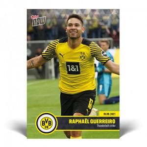 2021 Topps Now Bundesliga BVB #2 Raphael Guerreiro Borussia Dortmund PRESALE