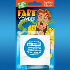 6 FART POWDER Packs - no need for a fart machine pooter - gag prank joke
