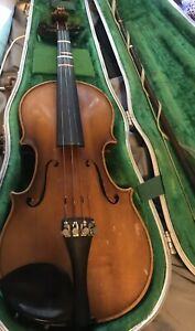 Vintage 1968 Stradivarius Copy VIOLIN E.R. Pfretzschner w/ Case