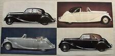 JAGUAR MARK V Car LF Sales Literature Pack c1950 3 ½ LITRE SALOON & COUPE
