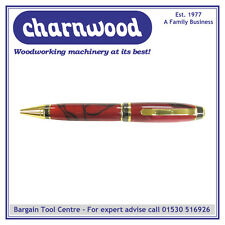 Charnwood penturning pencggm cigare Pen-gold & gunmetal Kit